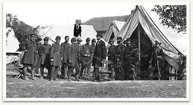 Photograph of Civil War Soldiers